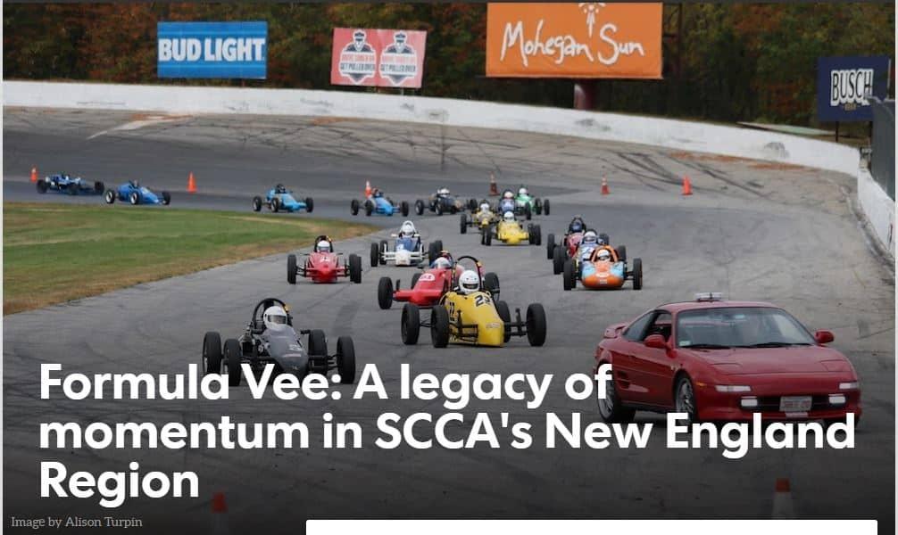 Racer Magazine Profiles NER FV Series