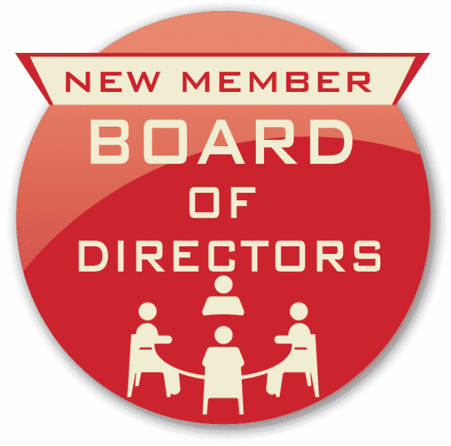 Welcome New BOD Members
