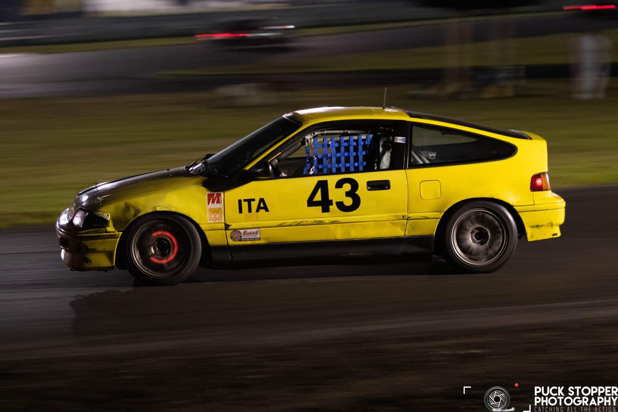 NER Goes Dark: 160 Cars Show Up to Race at Night