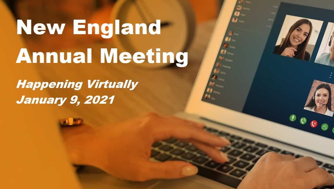 SAVE THE DATE: NER 2021 Virtual Annual Meeting