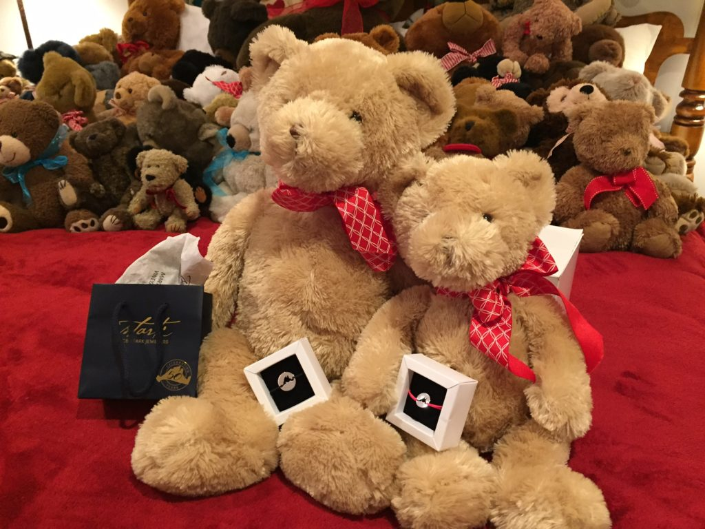 Island Ties CB Stark Bracelets Martha's Vineyard Teddy Bear Suite Fundraiser Raff;e