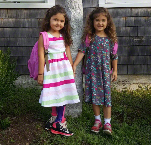 Martha's Vineyard Boys & Girls Club After School Program Hungry Healthy Kids: Annabelle & Maaddison Smith