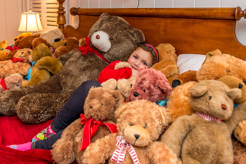 Walsh Family Donates Hundreds Of Bear To The Teddy Bear Suite