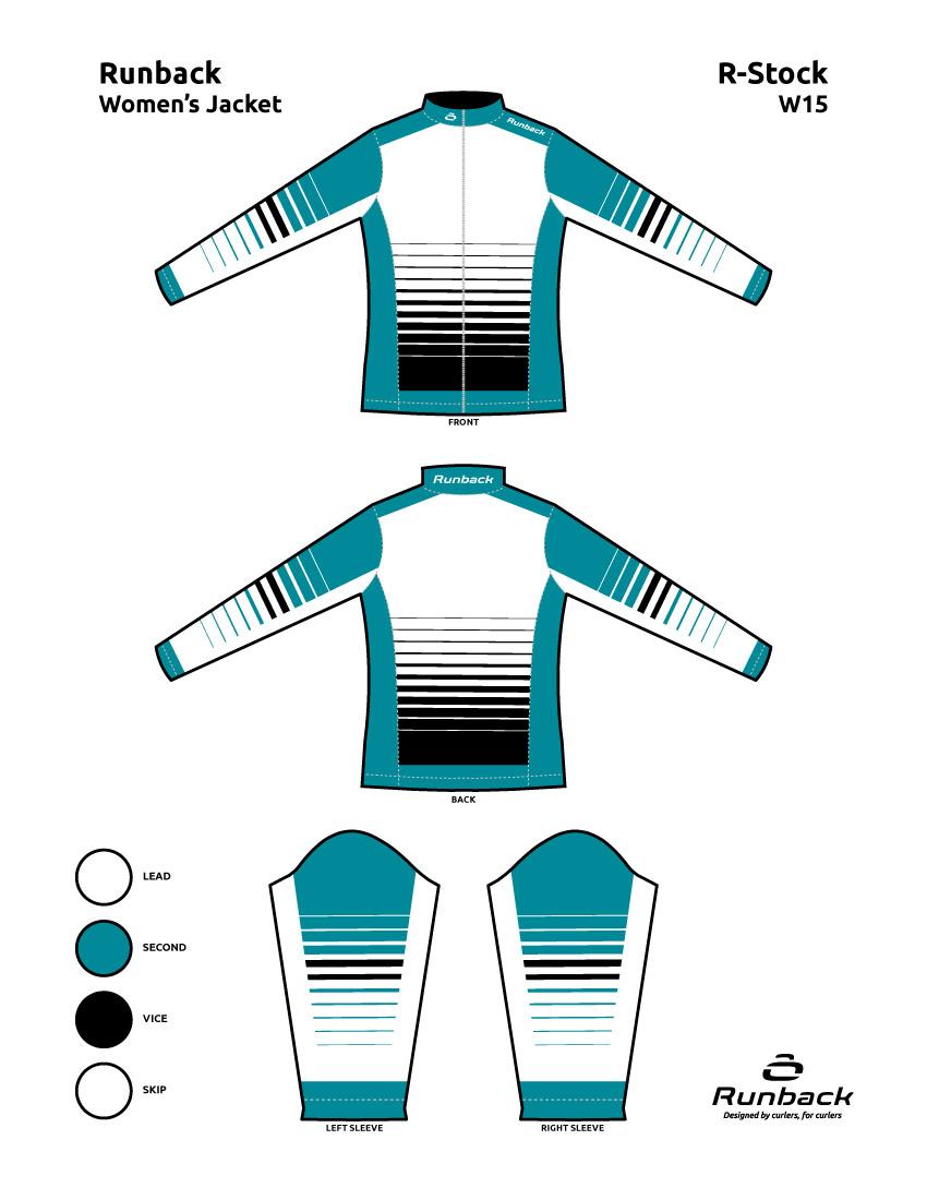 Runback Curling Jacket Stock Design W15