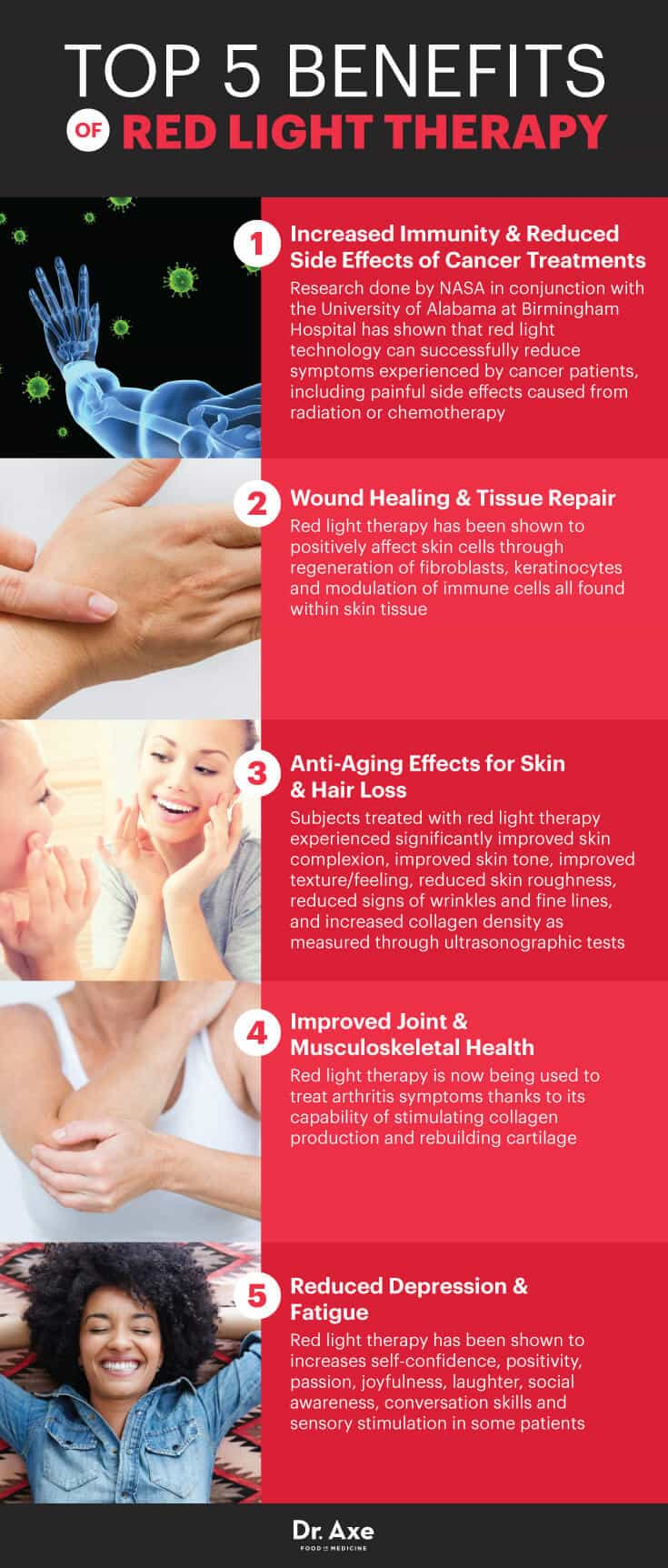 Anti-Aging Effects Of Red Light Therapy