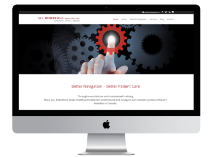 Windrose Web Design - ML Robertson
