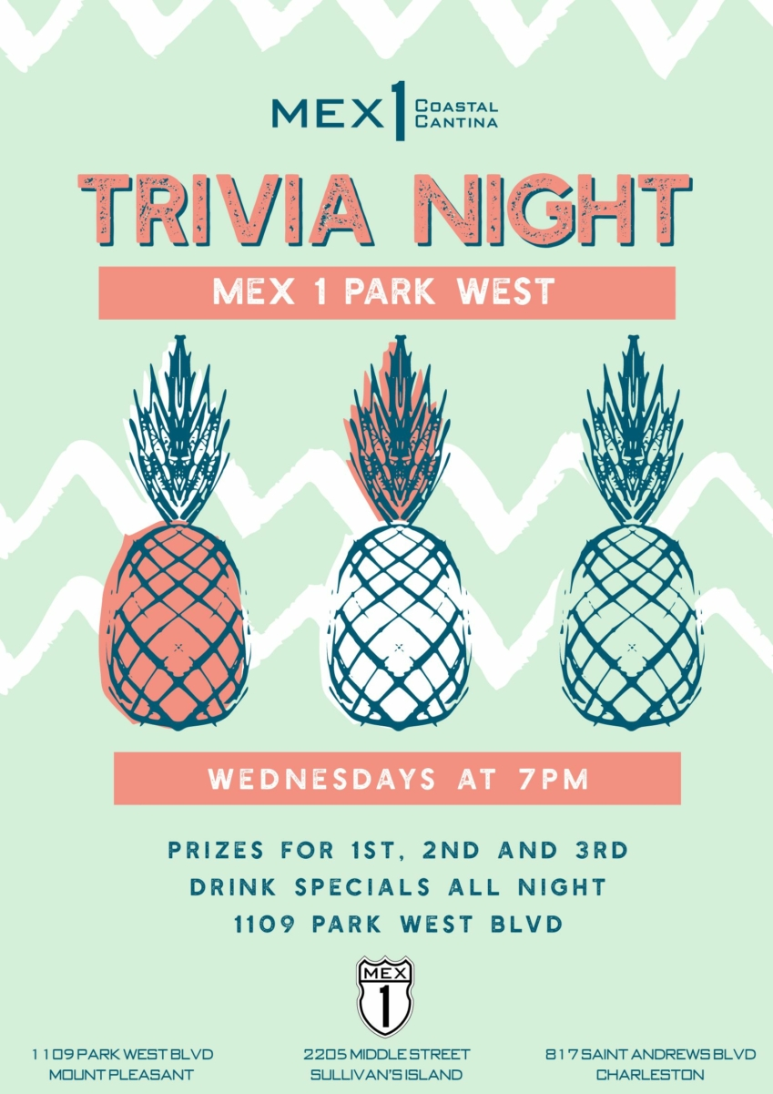 Mex 1 Trivia night at Park West