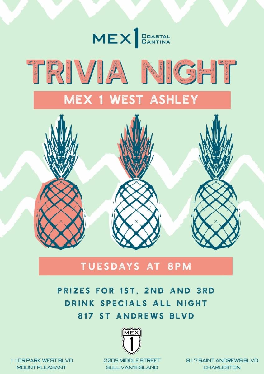 Mex 1 West Ashley Trivia Night