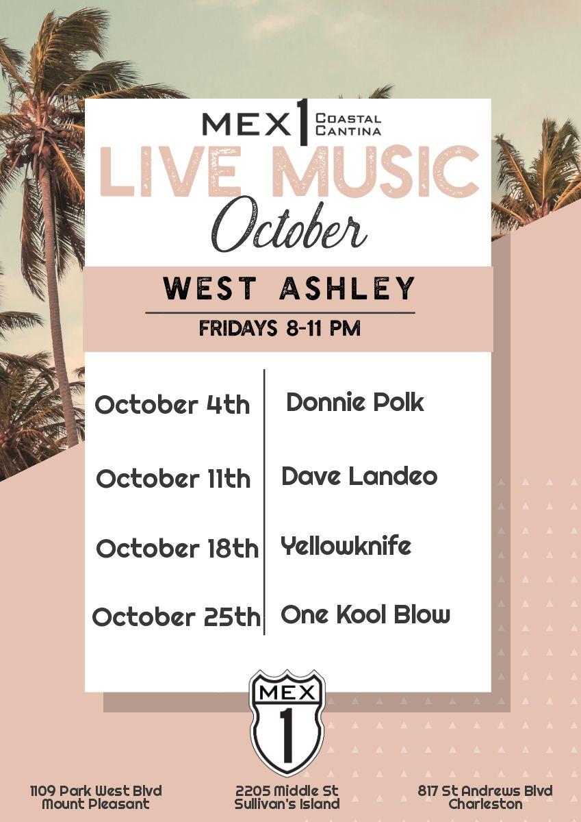 Mex 1 Live Music West Ashley