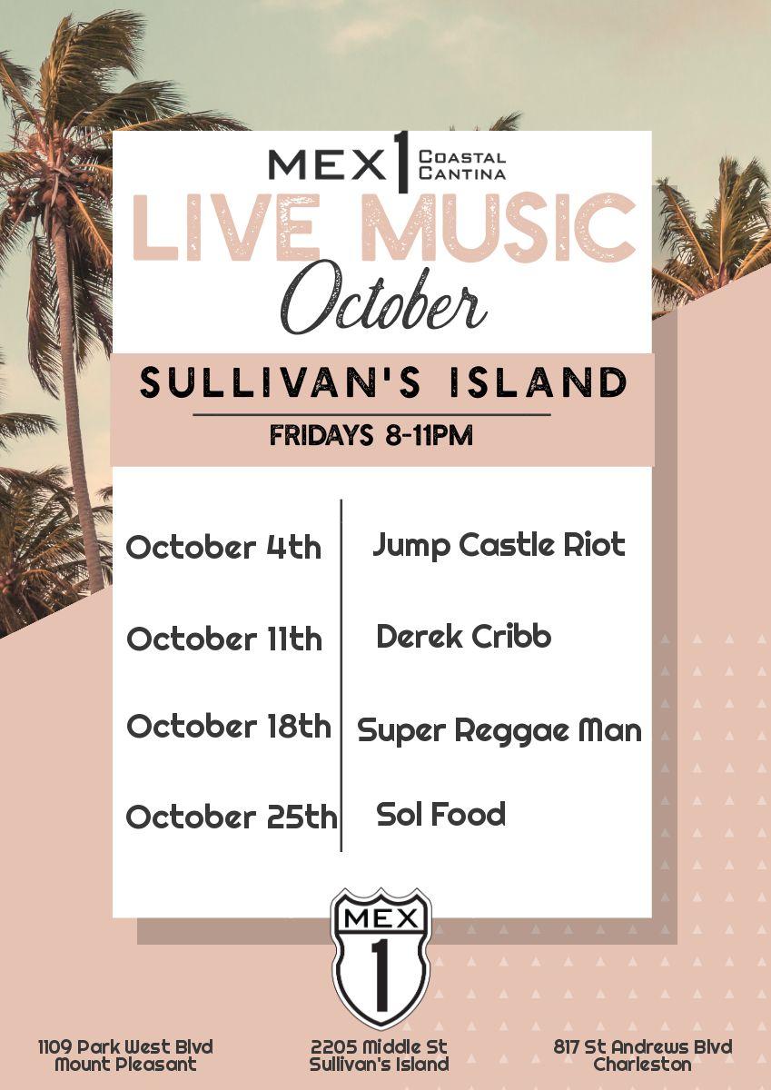 Mex 1 Live Music Sullivan's Island
