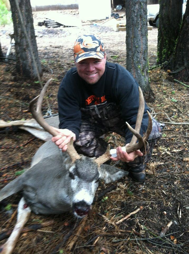 Luke's first CA Mule Deer