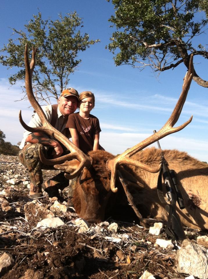 Shay and Luke hunting elk