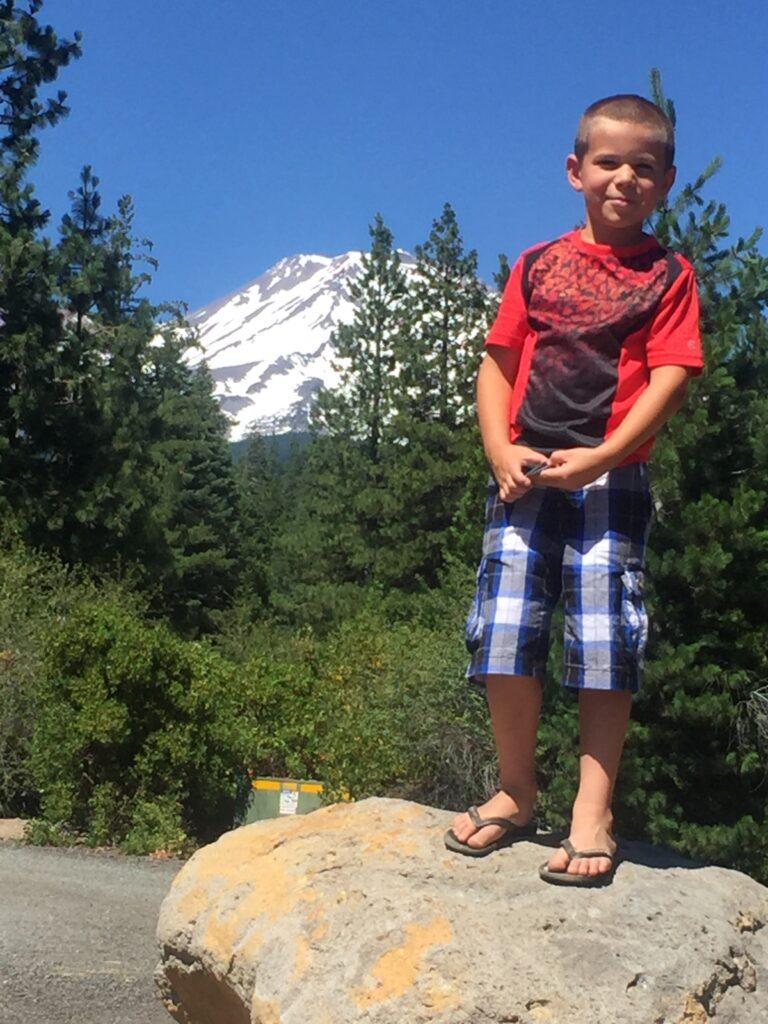Zeke at Mt. Shasta