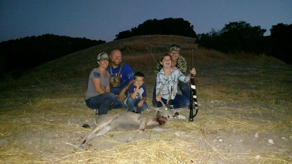 A family who hunts together...