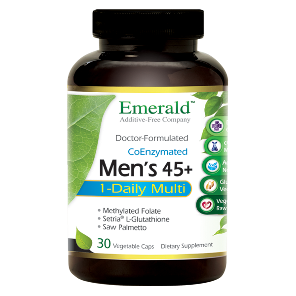 Emerald Men 45+ 1-Daily Multi (30) Bottle
