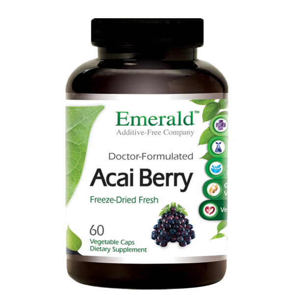 Emerald Acai Berry (60) Bottle