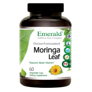 Emerald Moringa Leaf (60) Bottle