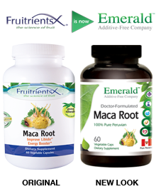 Emerald Maca Root Side-by-Side
