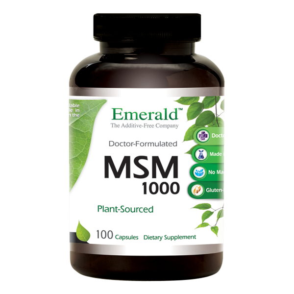 MSM 1000mg Bottle