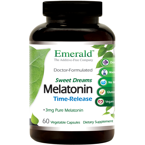 Emerald Melatonin Time-Release (60) Bottle