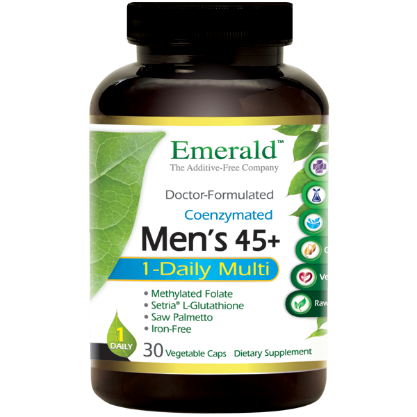 Emerald Labs Men's 45+ 1-Daily (30) Bottle