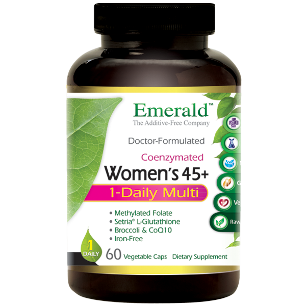 Emerald Labs Women 45+ 1-Daily (60) Multi Bottle