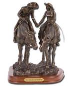 silversmith silver statue