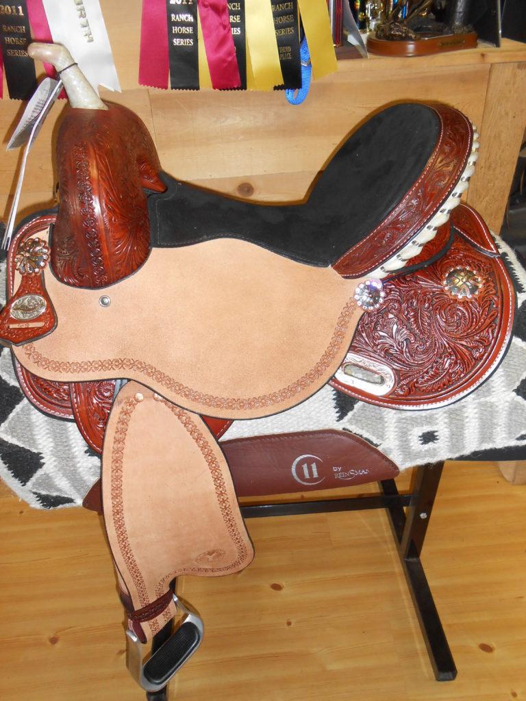 Just-B-Natural Barrel Saddle for Sale