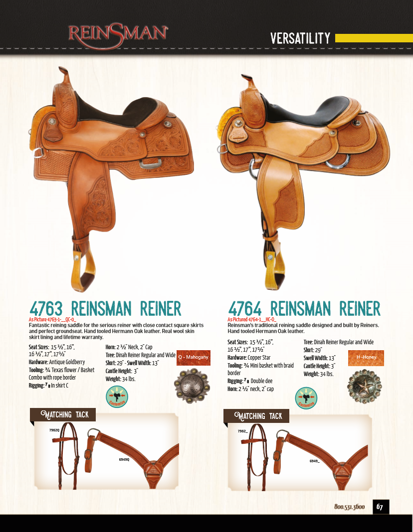 Circle Y Saddles and Tack For Sale