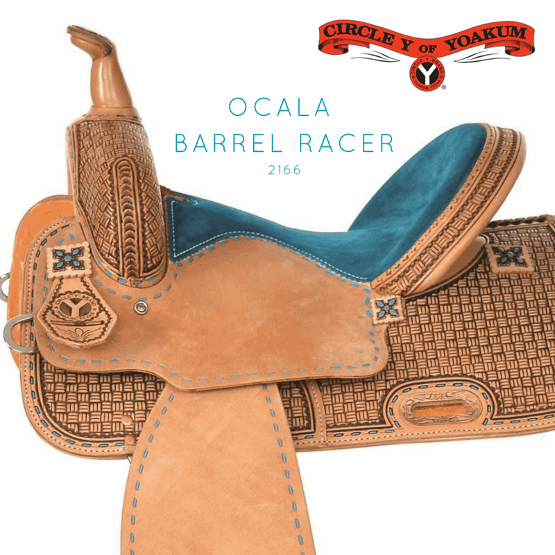 Ocala Circle Y barrel saddle