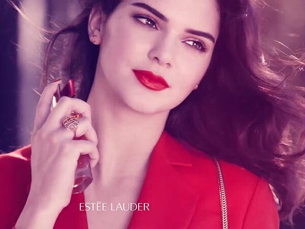 Kendall Jenner Estée Lauder influencer marketing