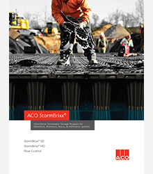 ACO Stormbrixx Catalogue Cover