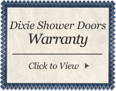 dixie shower doors warranty