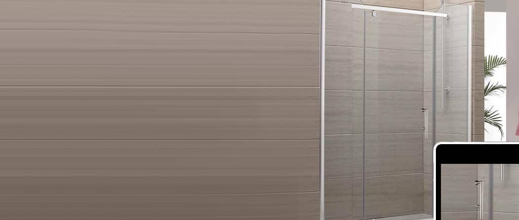 Frameless Shower Slider