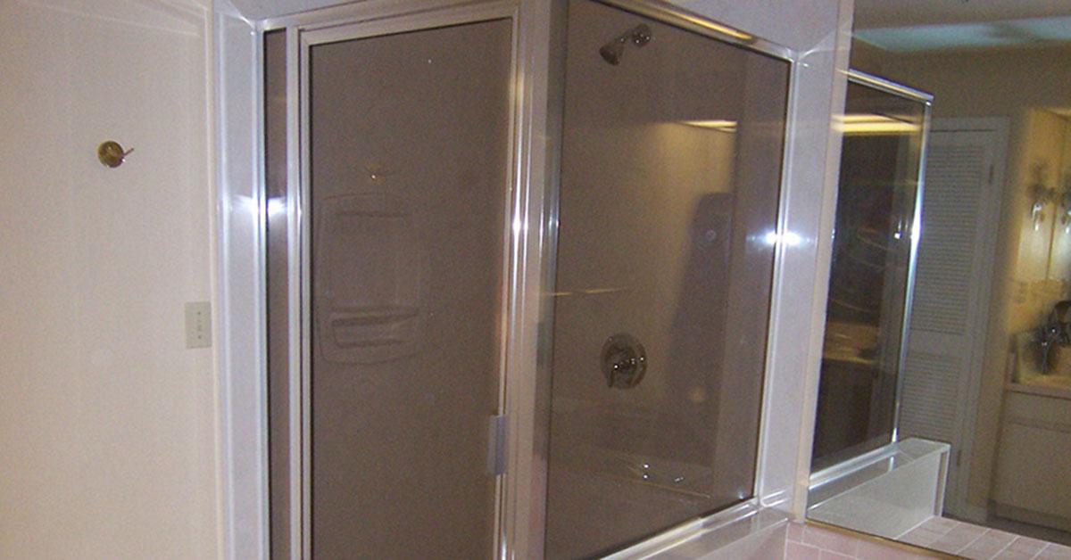 glass shower door replacement in orlando