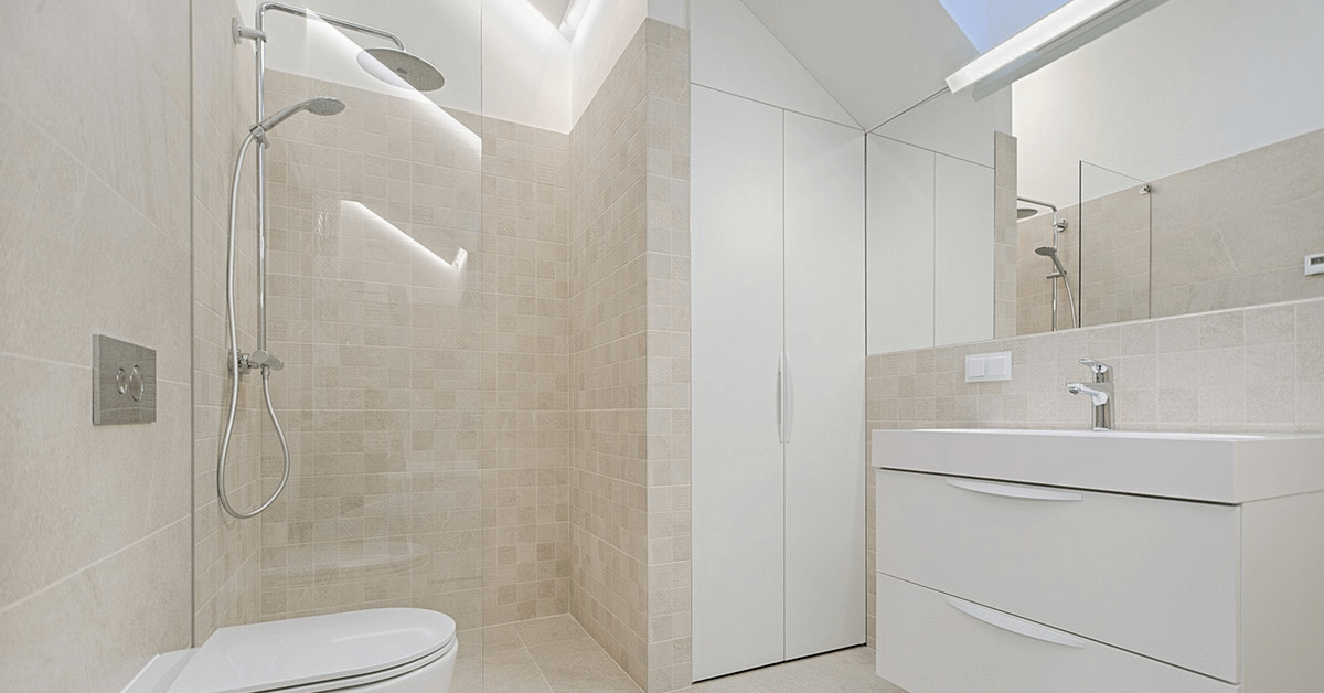 small bathroom designs near Orlando