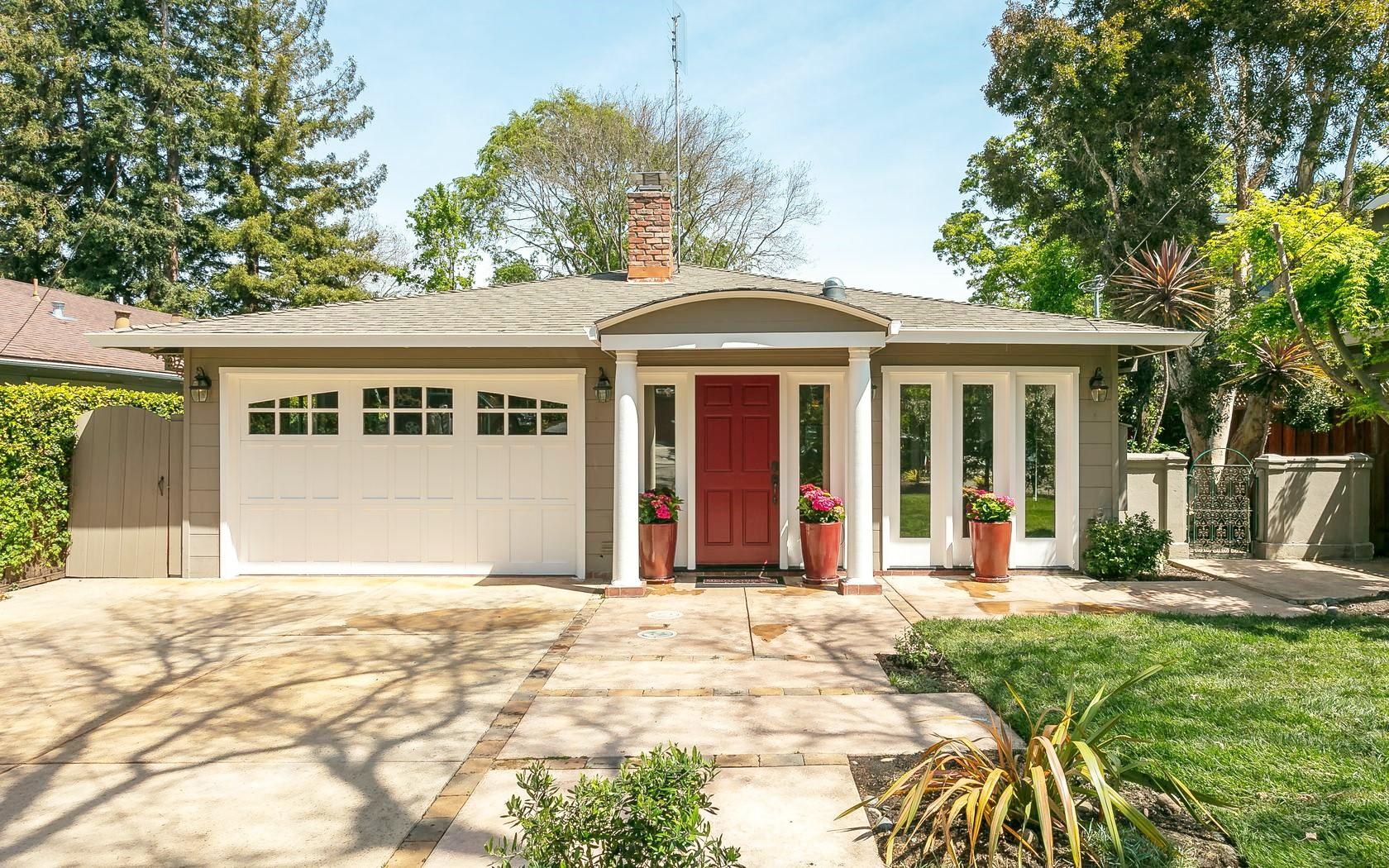 Home for sale. 1160 Sherman Ave. Menlo Park CA 94025