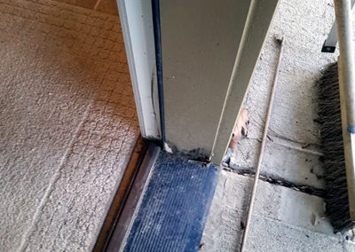Door Jamb Leg Replacement