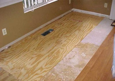 Subfloor Water Damage Repair