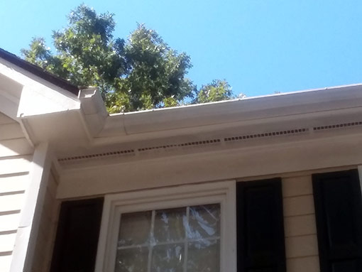 Soffit and Fascia Repair Completed