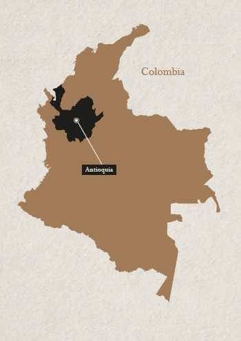 Antioquia in the map!