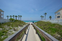 Crystal Beach Walkway