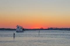 Destin Sunset Sailboat-2