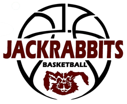 Bowie, Texas Jackrabbit basketball logo