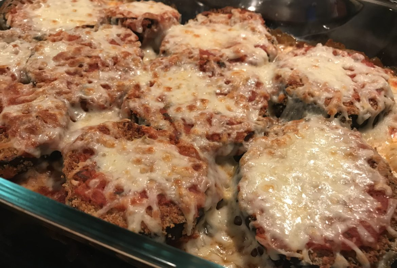flourless eggplant parmesan