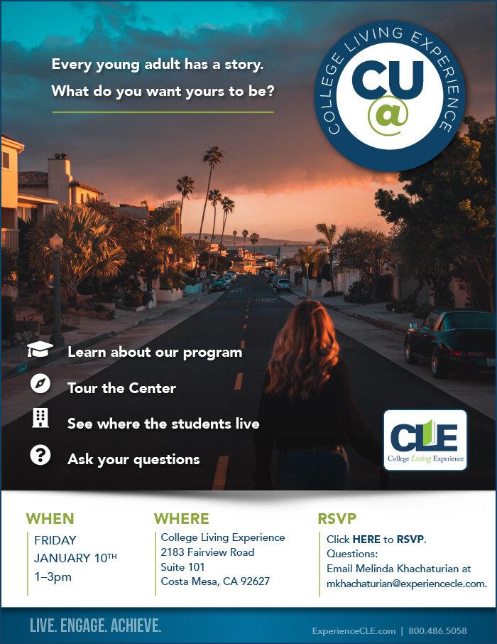 CU@CLE Costa Mesa Jan 10, 2020