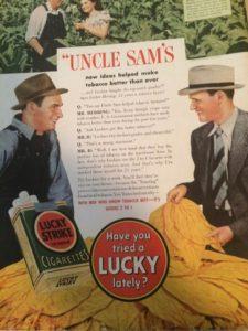 1940 Lucky Strike Ad