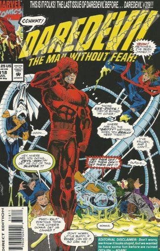 Daredevil #318