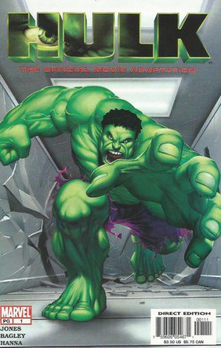 Hulk The Movie Adaptation #01