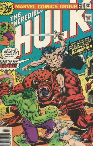 Incredible Hulk Volume 2 #201